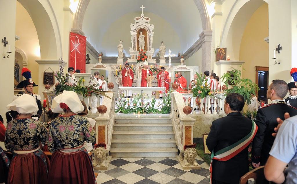 Cagliari, 3 maggio 2019 – Messa in sardo per Sa die de sa Sardinia.