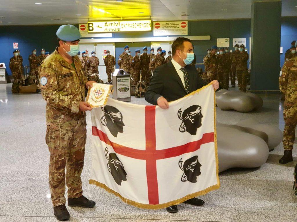 Cagliari, 10 luglio 2020 – Brigata Sassari in missione in Libano.